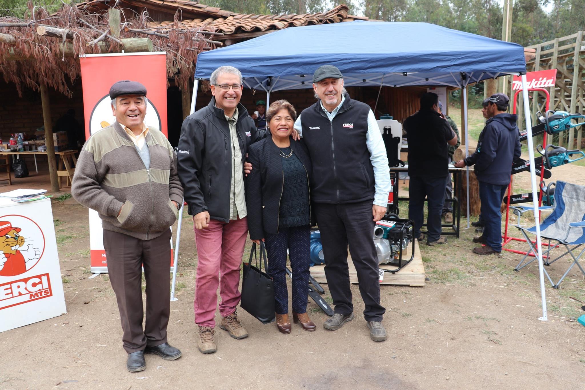 ALCALDESA DE PELLUHUE, PARTICIPA EN DÍA DE CAMPO GANADERO PRODESAL.