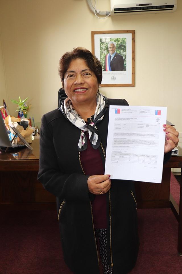 APROBACIÓN TÉCNICA DEL PROYECTO PLAZA CURANIPE.