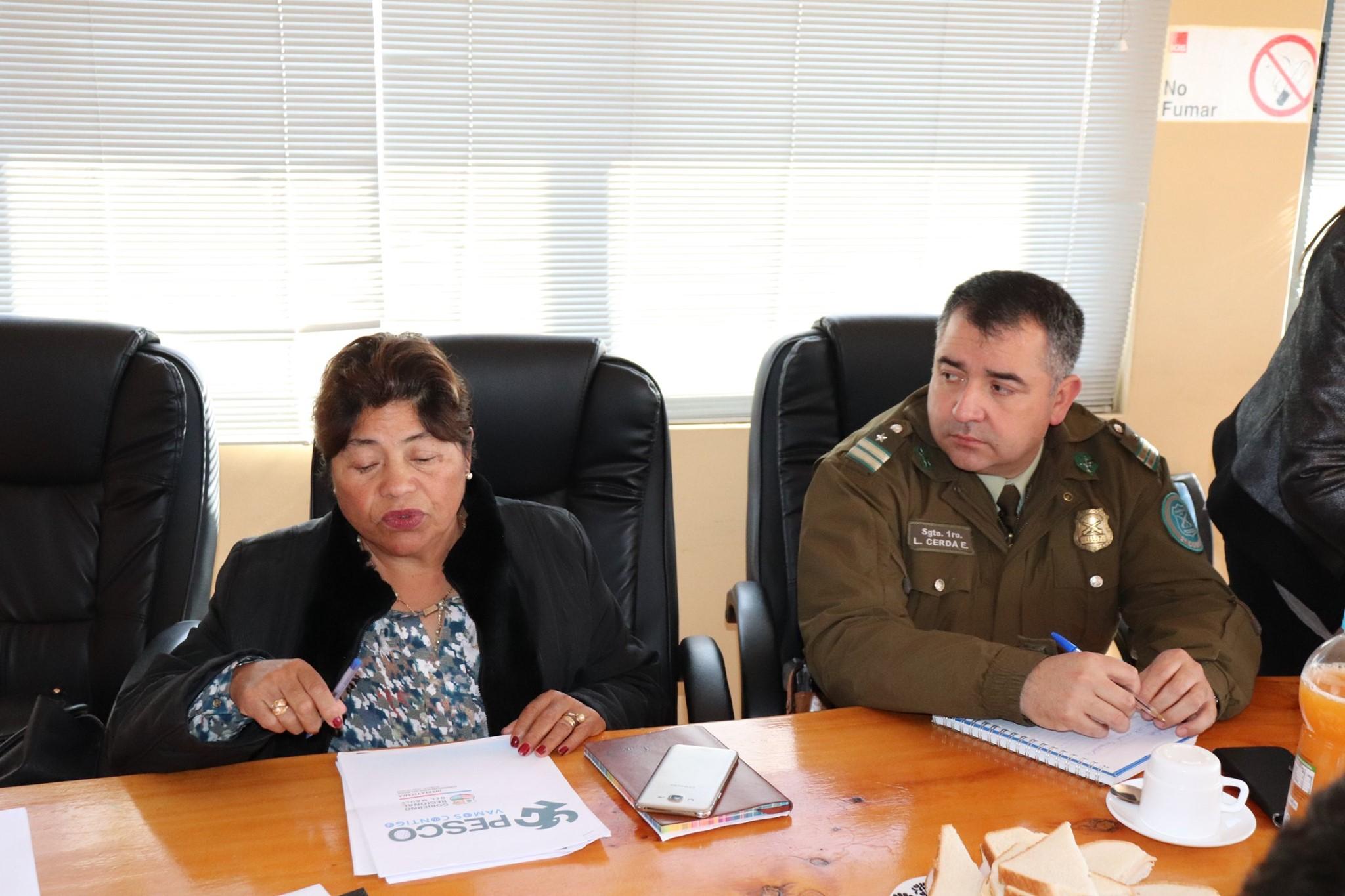 DECIMOSEXTA REUNIÓN DEL CONSEJO DE SEGURIDAD PÚBLICA.