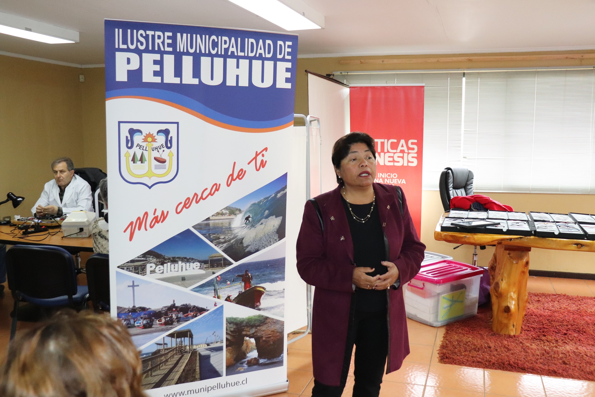 FINALIZADO EL SEGUNDO OPERATIVO OFTALMOLOGICO GESTIONADO CON EL SERVICIO DE SALUD DEL MAULE POR NUESTRA ALCALDESA SRA. MARIA LUZ REYES.