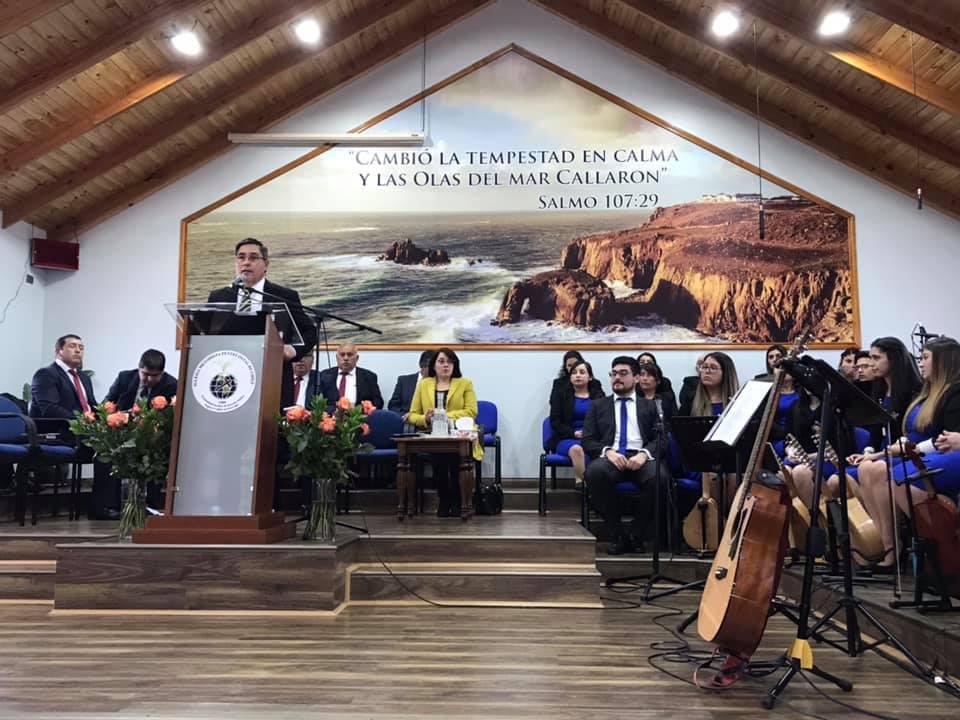EMOTIVO SERVICIO DE ACCIÓN DE GRACIAS 2019, OFRECIO LA IGLESIA METODISTA PENTECOSTAL DE CURANIPE.