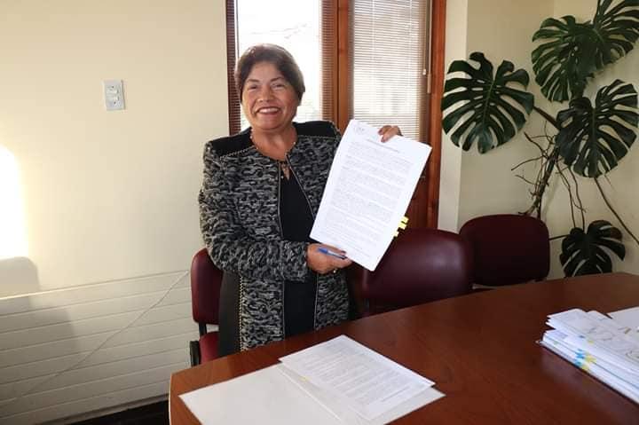 ALCALDESA SRA MARÍA LUZ REYES LOGRA LA APROBACIÓN DE $84 MILLONES PARA LA CONSTRUCCIÓN DE CASINO MULTIUSO PELLUHUE.