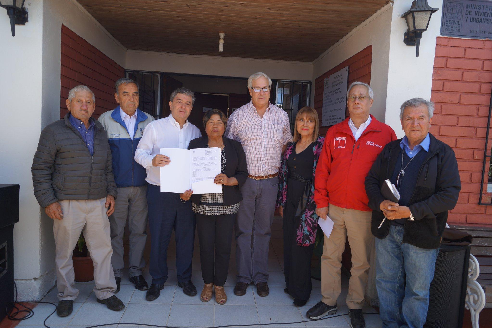 MINISTERIO DE BIENES NACIONALES ENTREGA CONCESIÓN CASA DE ADULTO MAYOR DE CURANIPE.