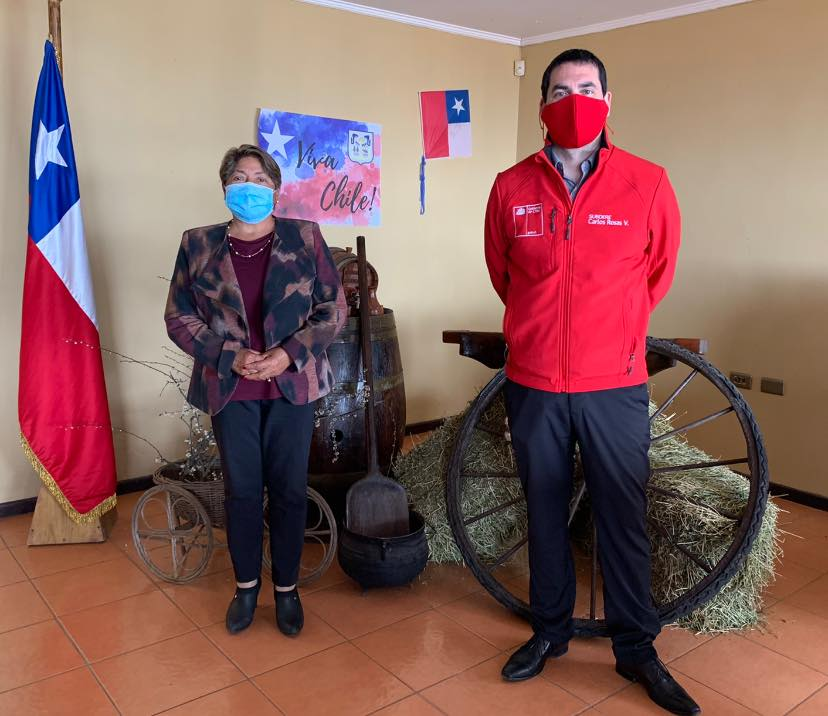 NUEVO JEFE DE LA UNIDAD REGIONAL DE SUBDERE HACE VISITA PROTOCOLAR A ALCALDESA DE PELLUHUE