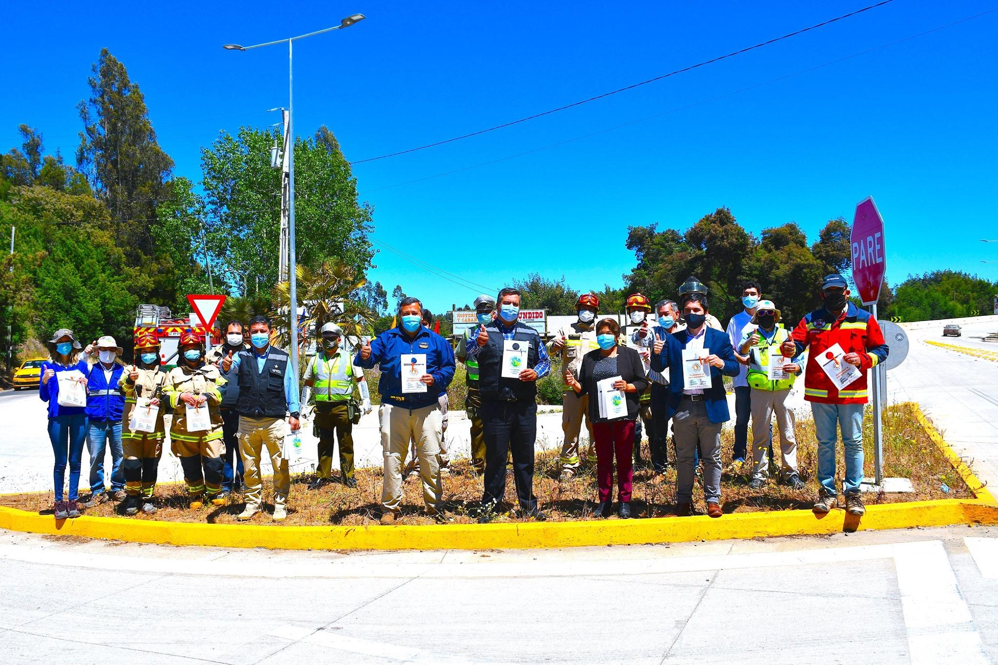 ALCALDESA PARTICIPA EN LANZAMIENTO PROVINCIAL DE CAMPAÑA EN PREVENCIÓN DE INCENDIOS FORESTALES.