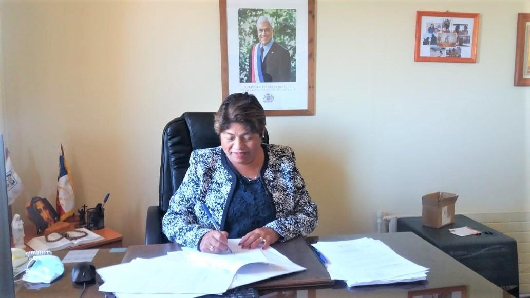 ALCALDESA MARIA LUZ REYES, ANUNCIA LA CONSTRUCCIÓN DE UNA CANCHA DE PASTO SINTÉTICO PARA CARDONAL