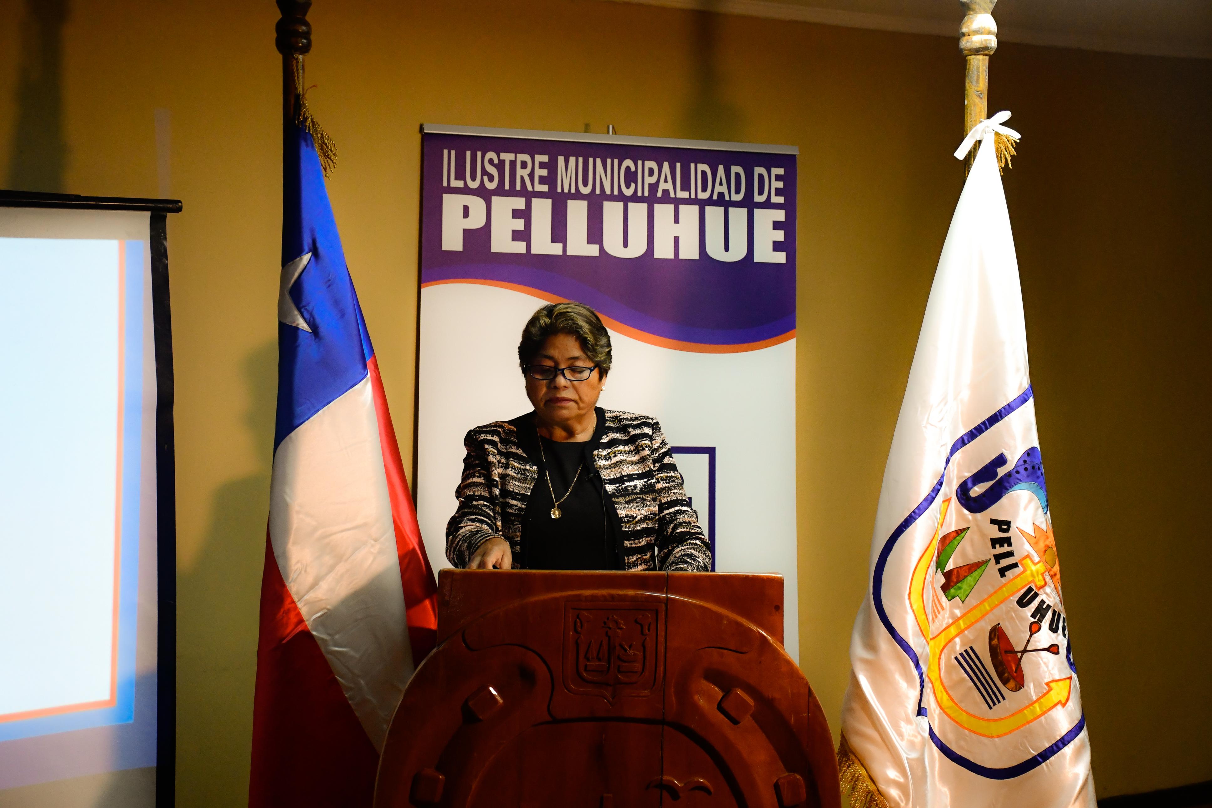 ALCALDESA DE PELLUHUE RINDE CUENTA PÚBLICA 2020